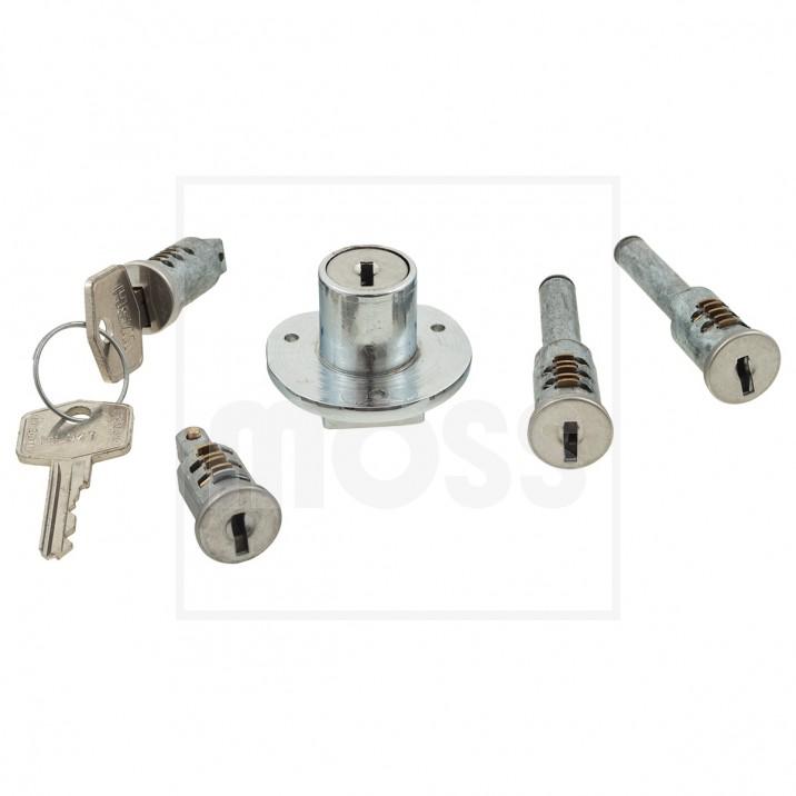 barrel lock set with keys 5 piece weston body hardware