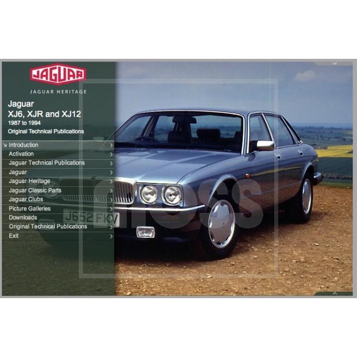 1994 Jaguar Xj Interior: OTP Jaguar XJ40 XJ6, XJR & XJ12 (1987-1994) (USB/Online