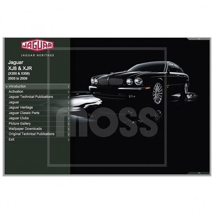 OTP Jaguar X350 XJ8 & XJR (2003-2009) (USB Portable)