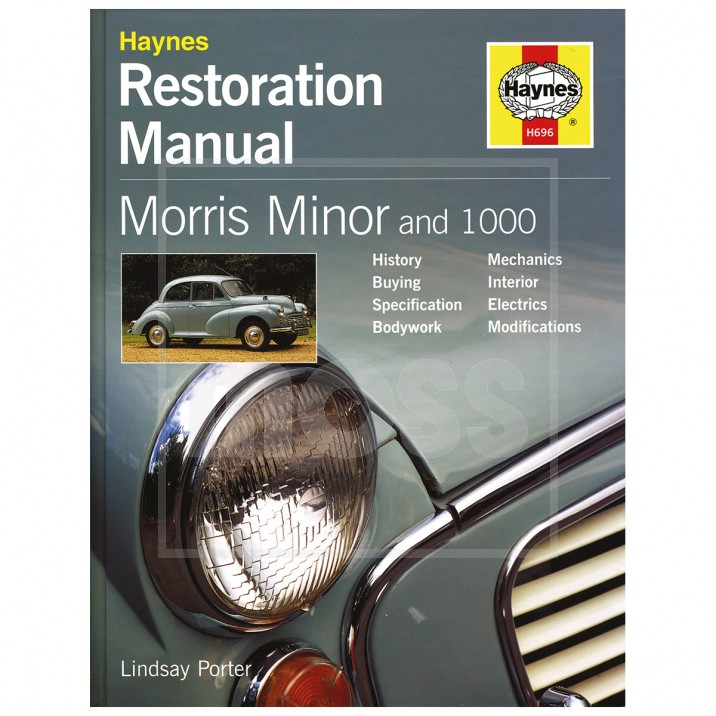 Restoration Manual, Morris Minor