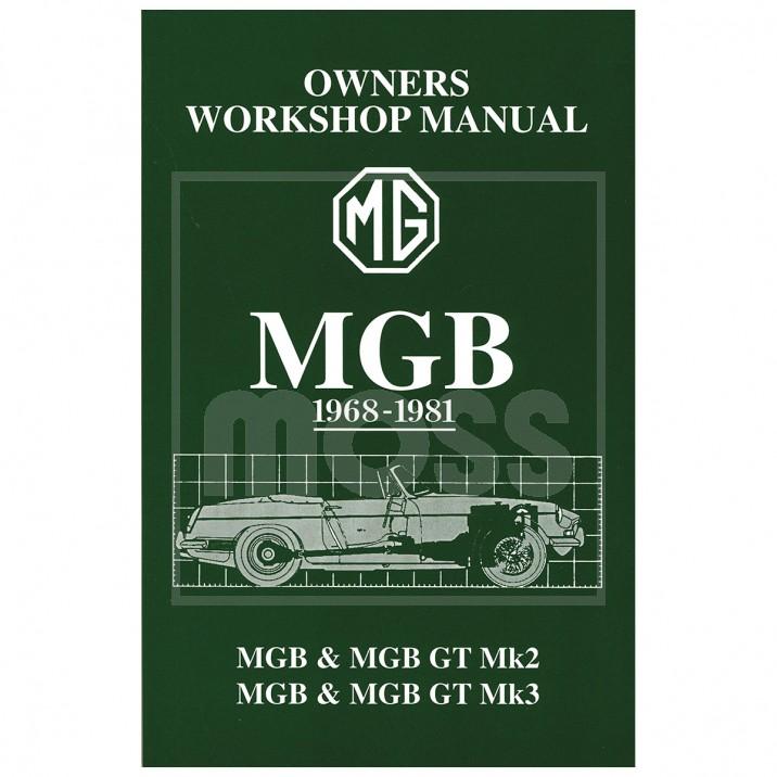 Mgb Workshop Manual For Sale