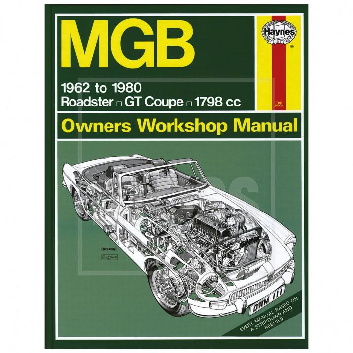 Haynes Workshop Manual, MGB