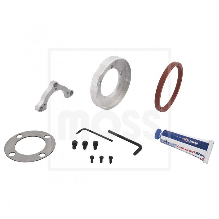 Oil Seal Conversion Kit, rear crankshaft, lip type seal