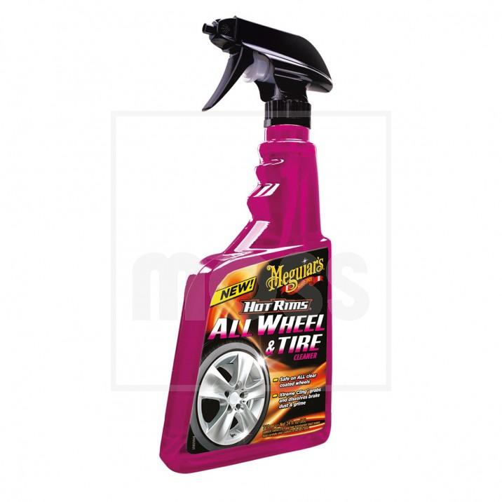 Meguiar's Hot Rims Wheel & Tyre Cleaner, 710ml