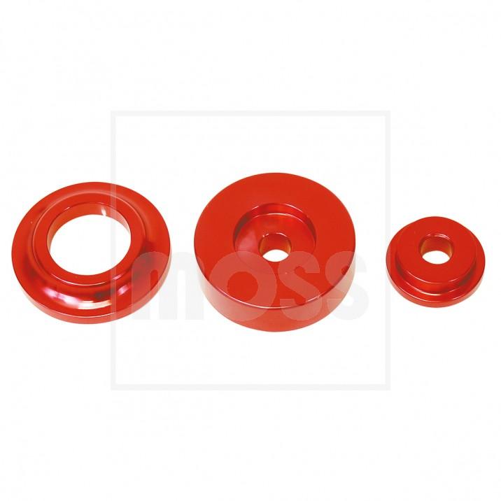 Washer Kit, front subframe, aluminium, 8 piece