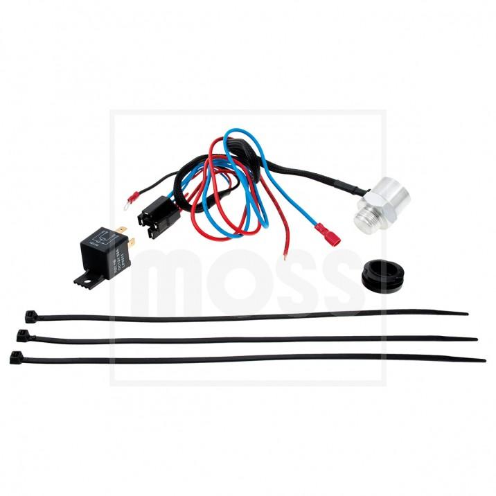 Electronic Fan Controller, Revotec, M22 x 1.5 for threaded boss