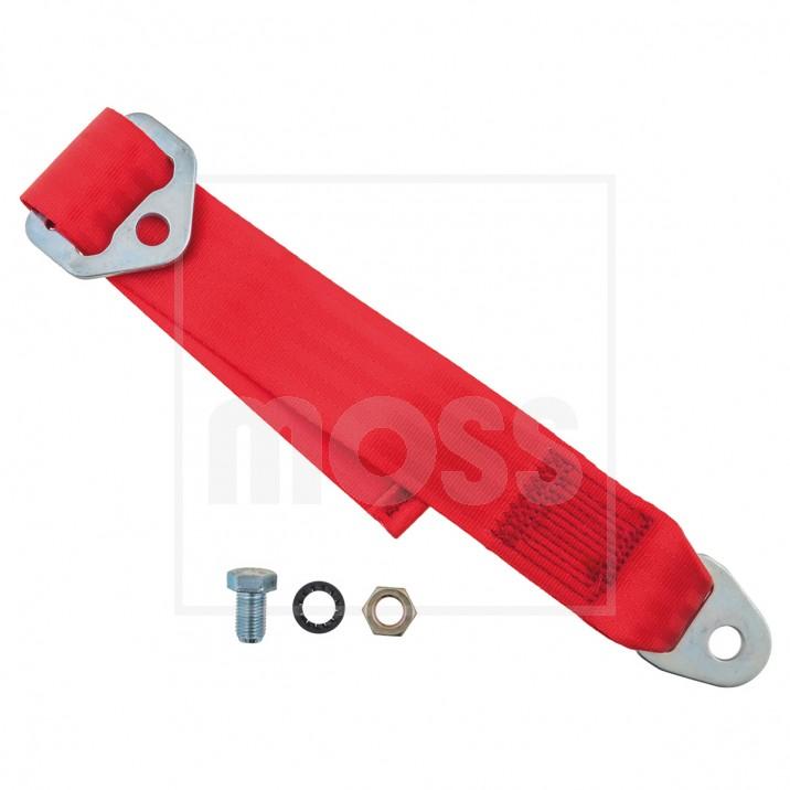 Seat Belt Extender, red, each