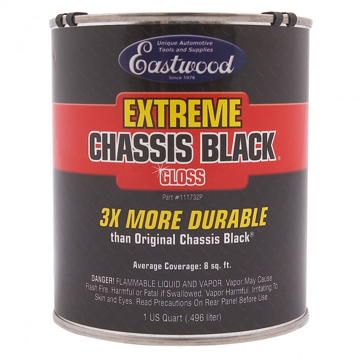 Eastwood Chassis Black, Extreme, Gloss, Quart 946ml