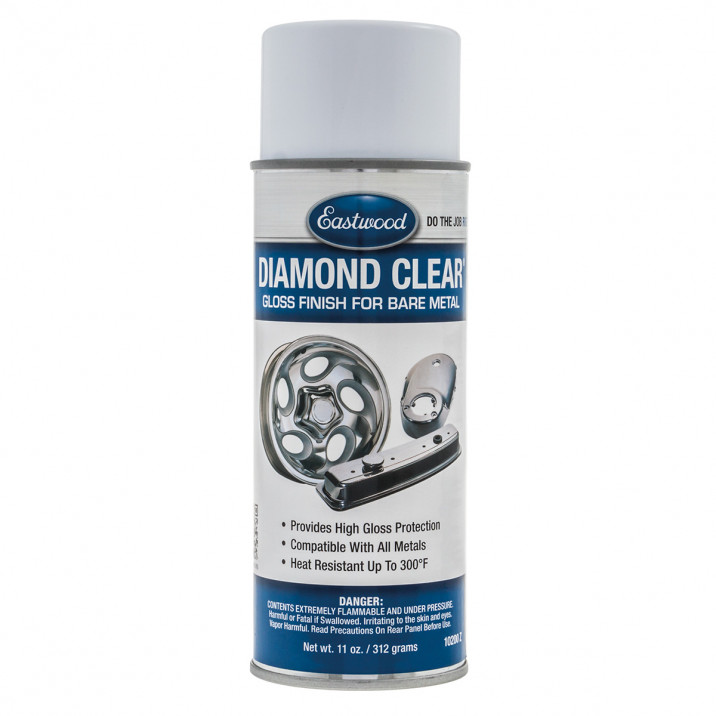 Diamond Clear, Bare Metal Surfaces, Gloss, 12oz Aerosol 355ml