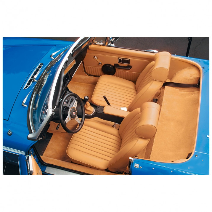 Interior Trim Kit Package, Light Tan, leather
