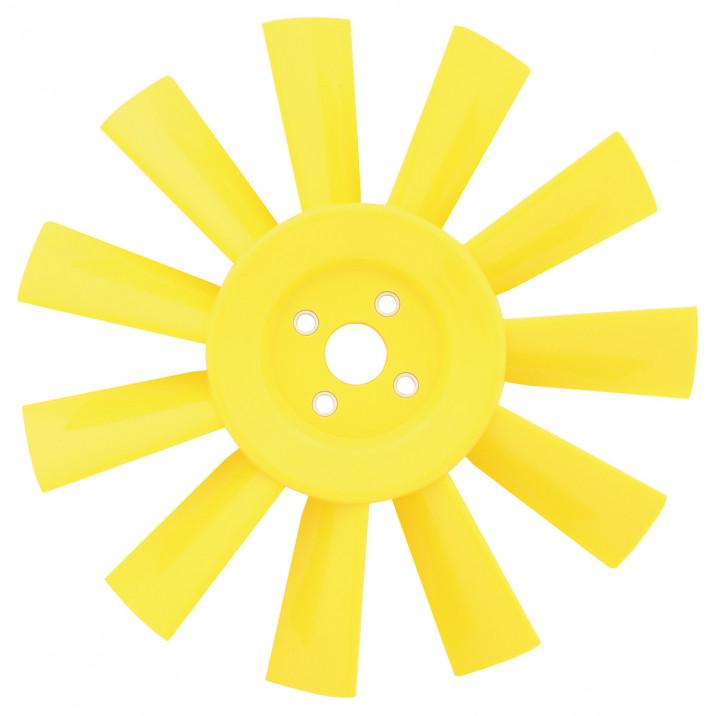 Fan, cooling, 11 blade, plastic