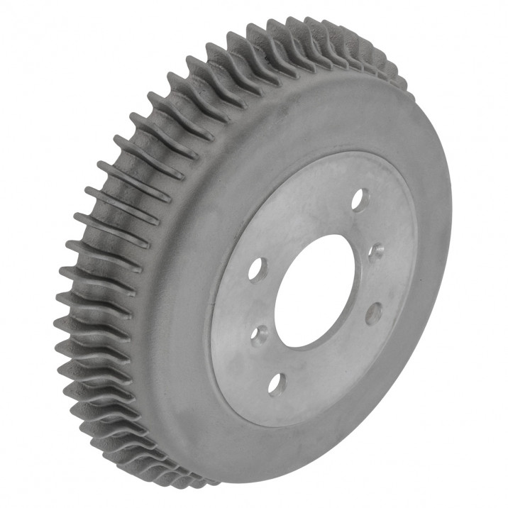 Alfin Style Brake Drums - TR4A-6