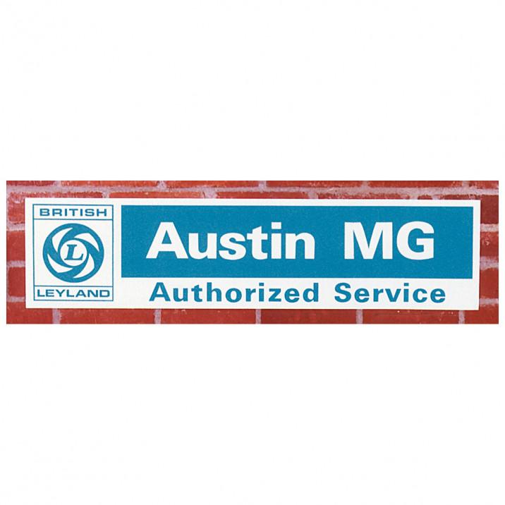 Service Sign, Austin/MG