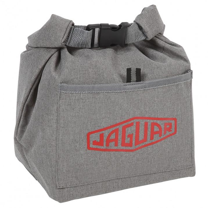Cool Bag, insulated, diamond logo, grey