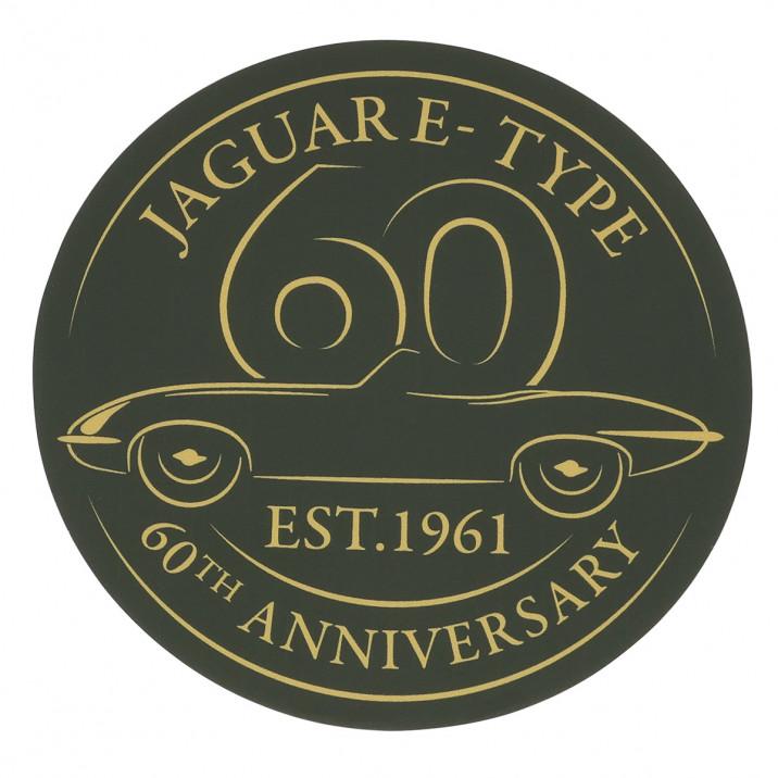 Sticker, 4 Inch, E-Type 60th anniversary