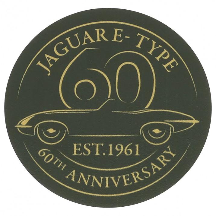 Sticker, 2 Inch, E-Type 60th anniversary