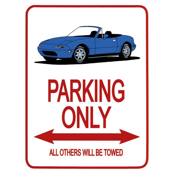 Parking Signs - MX-5 Mk1