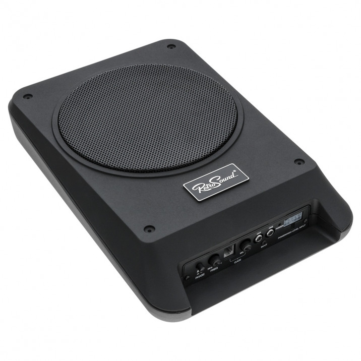 "RetroSound Subwoofer, 8"", with internal amplifier"