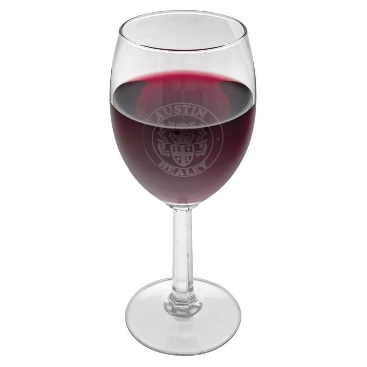 Wine Glass Set, Austin-Healey logo, set of 4
