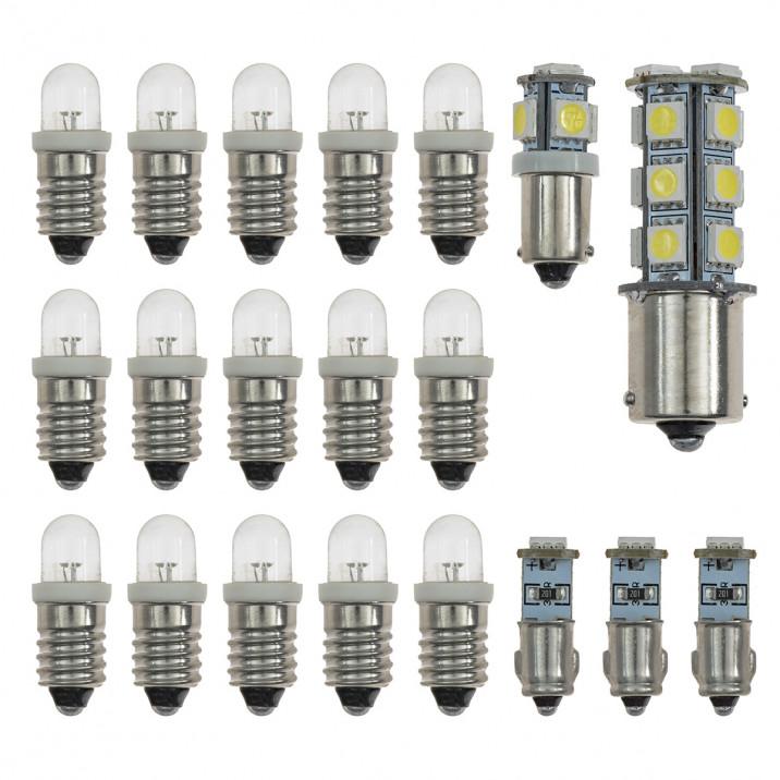 LED Dash Bulb Kits - E-Type