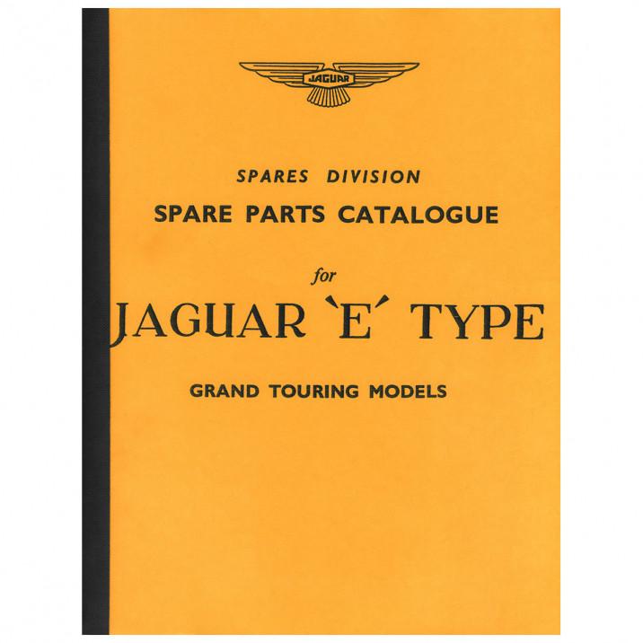 Parts Manual, E-Type 3.8