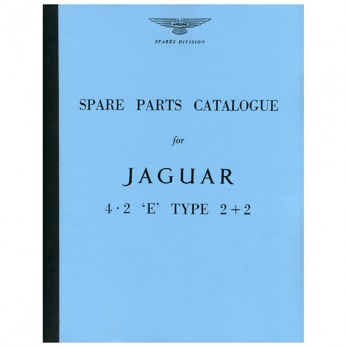 Parts Manual, Deluxe Edition, E-Type [Series I] 4.2 2+2