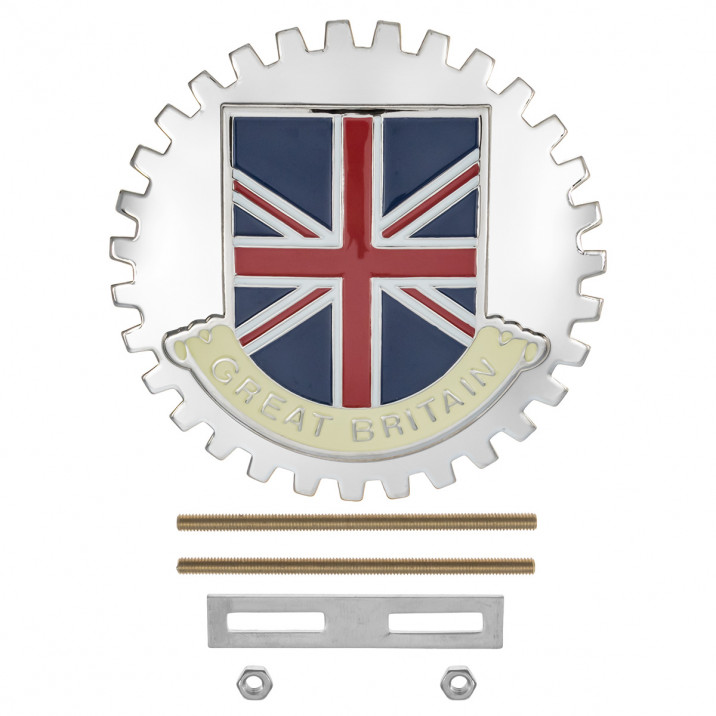 Badge, Union Jack/Great Britain, round