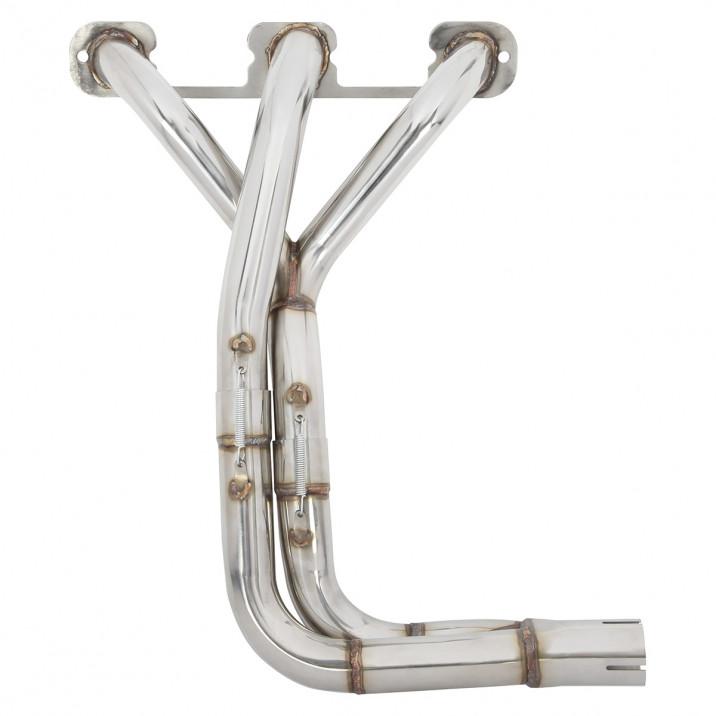 Manifold, exhaust, stainless steel, slip on
