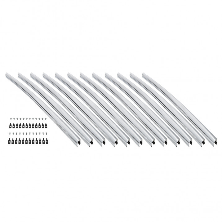 Grille Slat Set, radiator shell