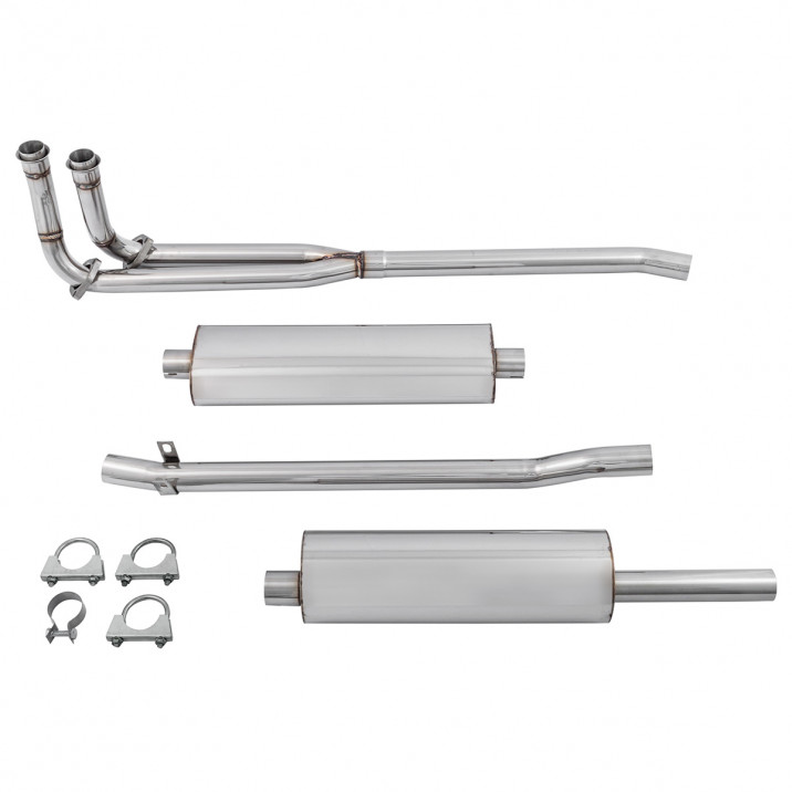 Exhaust System, Tourist Trophy, Touring, stainless steel