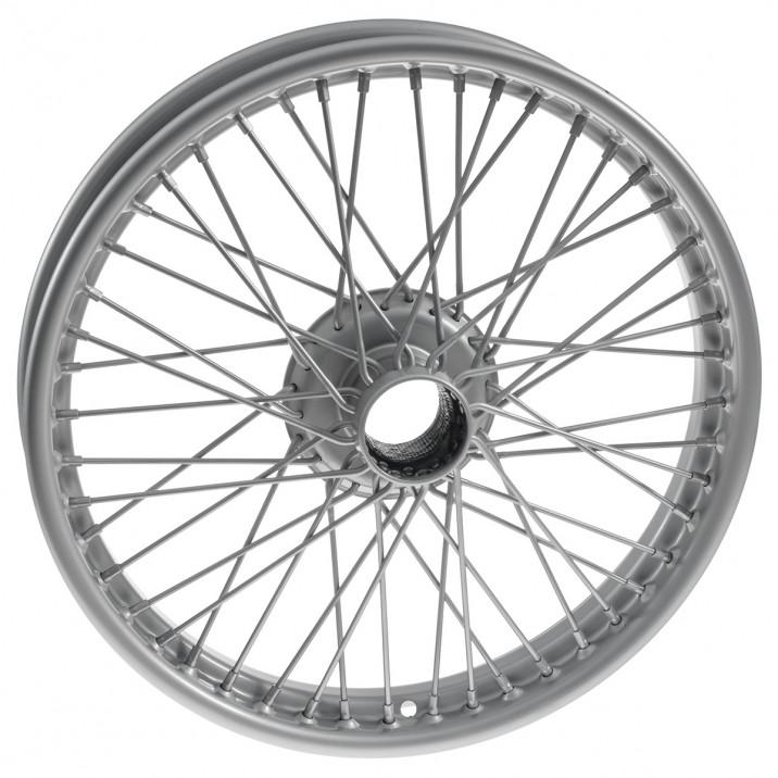 """Wire Wheel, painted, 19"""" x 2.5"""", 48 spoke"""