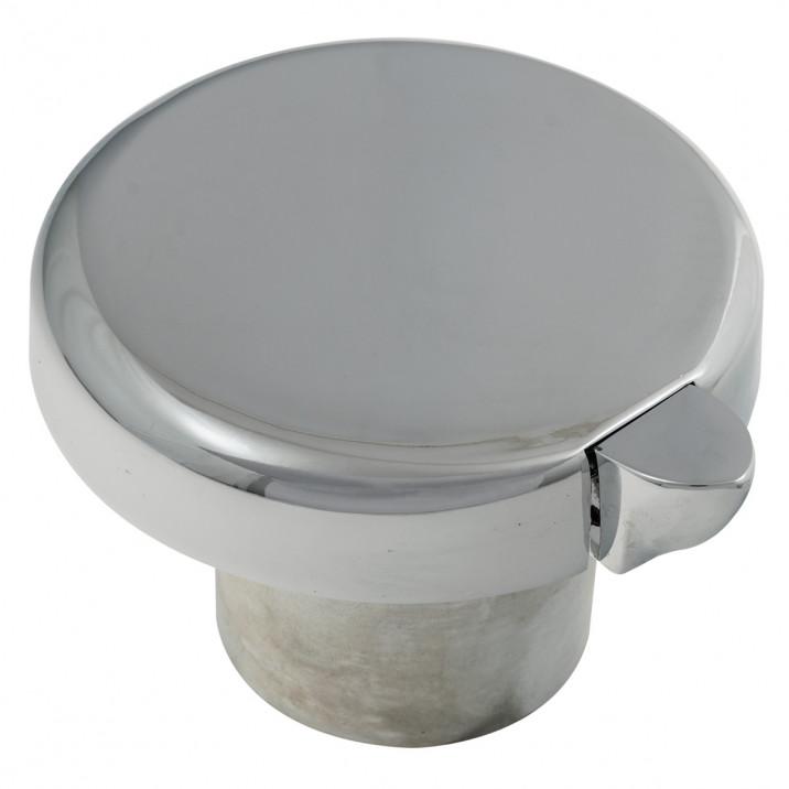 Fuel Cap, non locking, vented, chrome