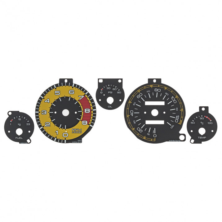 Rev Limiter Gauge Face Kits - MX-5 Mk1