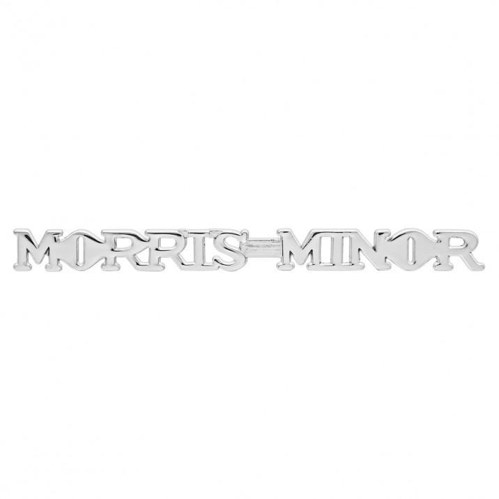 Badge, bonnet, Morris Minor