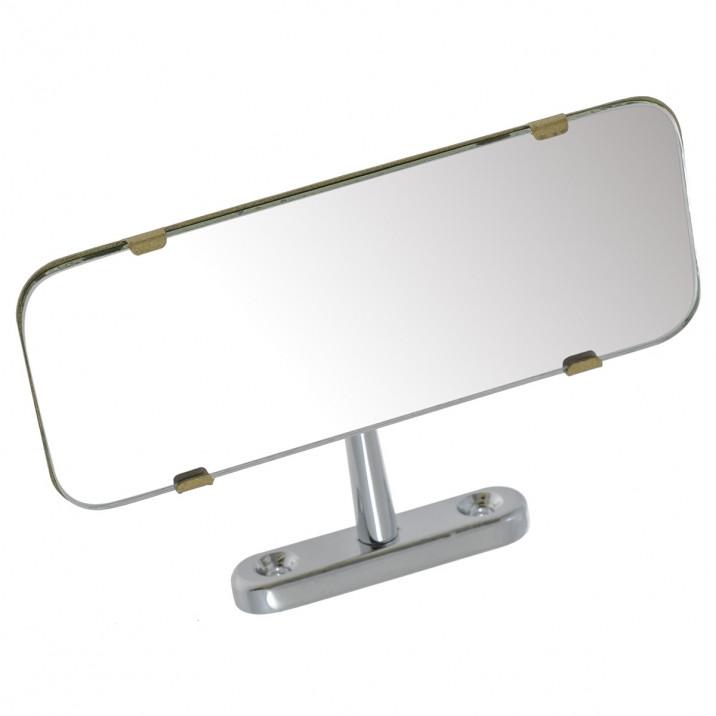 Mirror, rear view, dashboard mounted