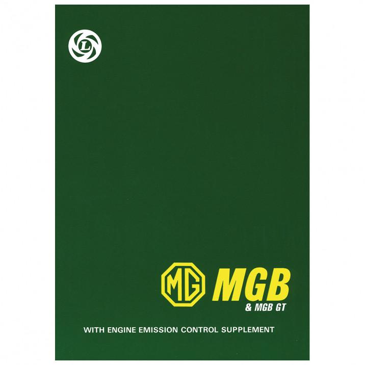 Workshop Manual, MGB 1962-76