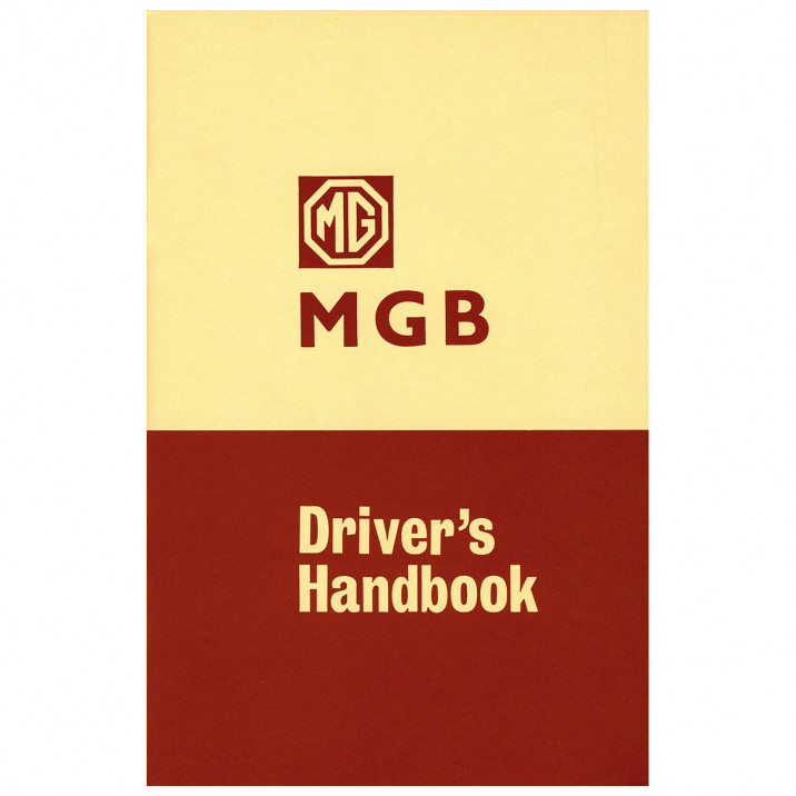 Owners Handbook, MGB 1963-68