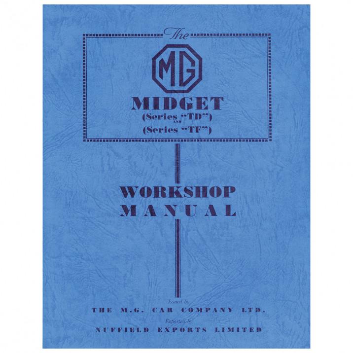 Workshop Manual, MG TD-TF