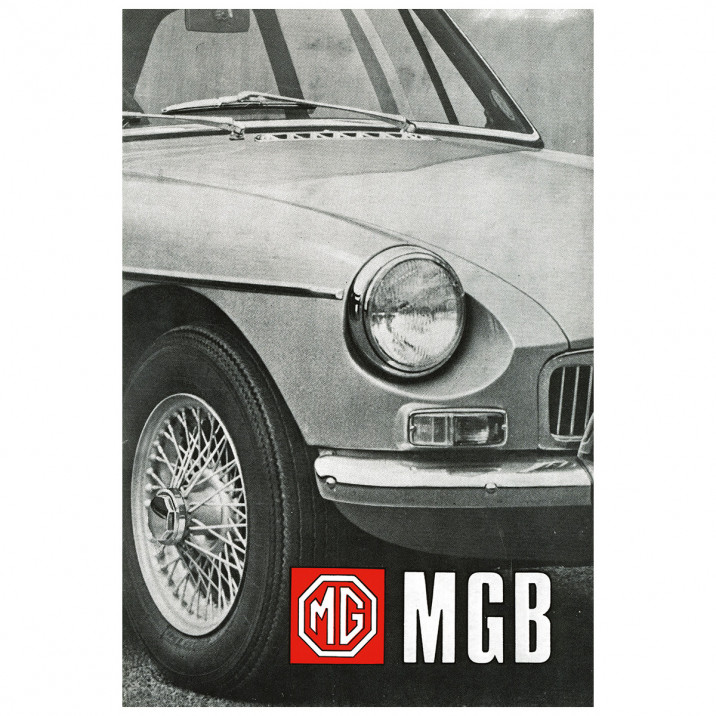 Owners Handbook, MGB 1968-69, USA