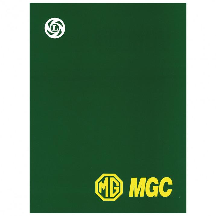 Workshop Manual, MGC