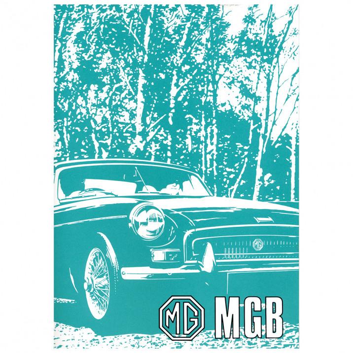 Owners Handbook, MGB 1967-76