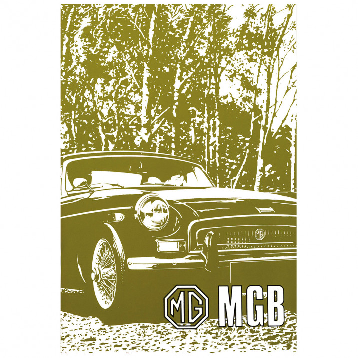 Owners Handbook, MGB 1970-72, USA