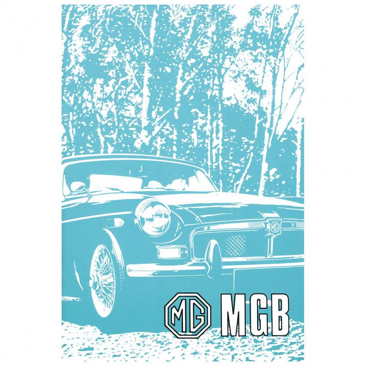 Owners Handbook, MGB 1972-73, USA
