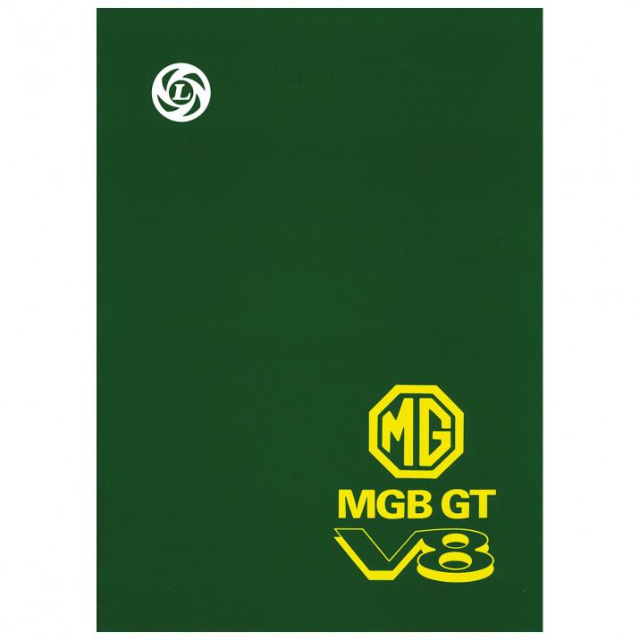 Workshop Manual, MGB GT V8