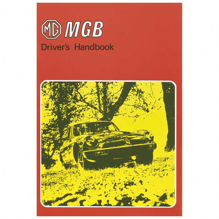 Owners Handbook, MGB US Spec