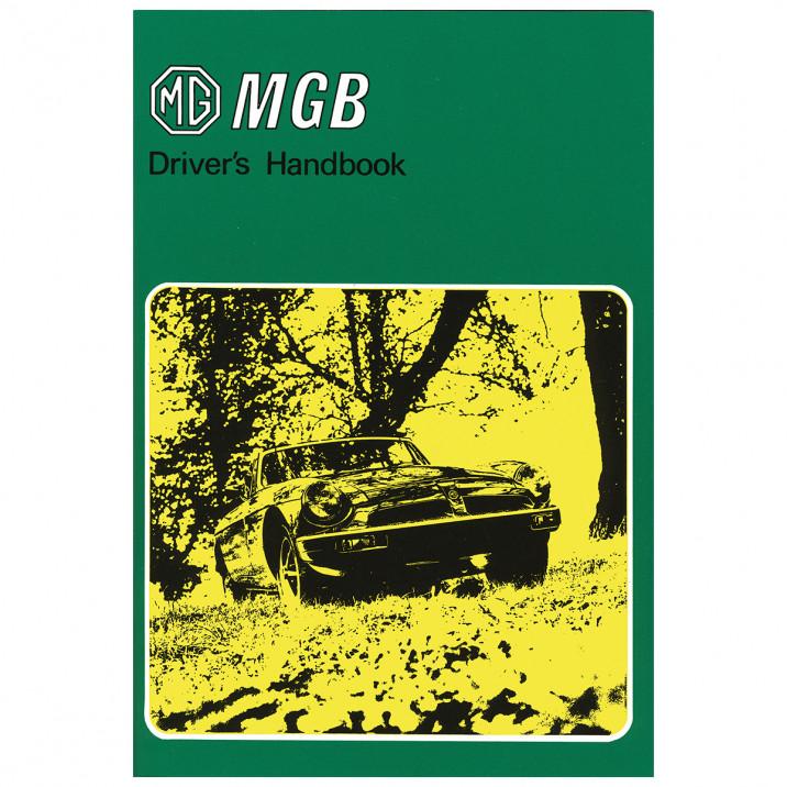 Owners Handbook, MGB 1979-On, USA