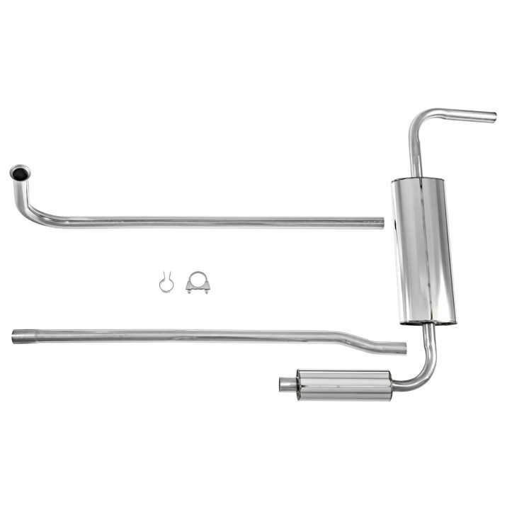 Bell Stainless Steel Exhaust Systems - Sprite & Midget