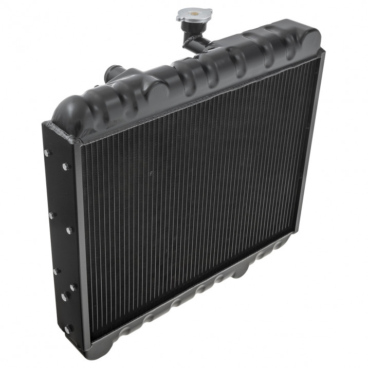 Radiator, aluminium, standard, black coated, NAR Group