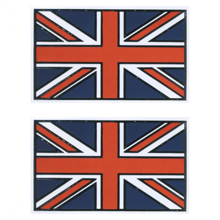 Badge, Union Jack, pair