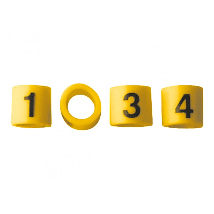 Ignition Lead Numbering Set
